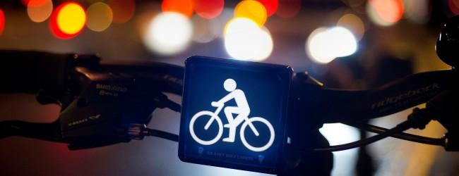 """""""Brainy Bike Lights"""" – nowa koncepcja oświetlenia dąży do zmniejszenia wypadków z udziałem rowerzystów"""