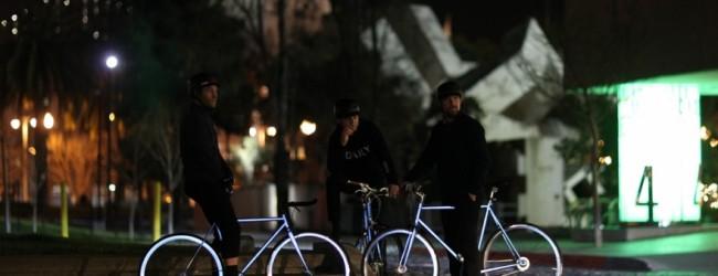 Lumen – rower z odblaskową powłoką
