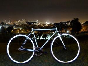 Lumen - odblaskowy rower