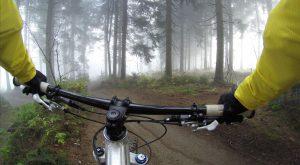 jazda na rowerze mtb