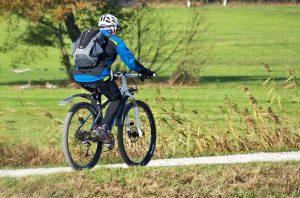 wycieczka rowerowa jesienią