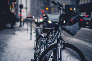 rower w mieście