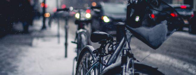 Smog a jazda na rowerze